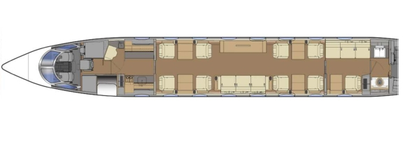 plan GULSTREAM G650